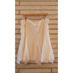 🛍️Ralph Lauren Lace Skirt